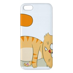 Even Cat Hates Monday Apple Iphone 5 Premium Hardshell Case by Catifornia