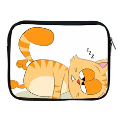 Even Cat Hates Monday Apple Ipad 2/3/4 Zipper Cases by Catifornia