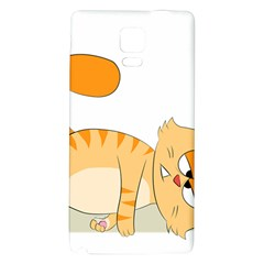 Even Cat Hates Monday Galaxy Note 4 Back Case by Catifornia
