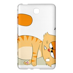 Even Cat Hates Monday Samsung Galaxy Tab 4 (7 ) Hardshell Case  by Catifornia