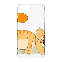 Even Cat Hates Monday Apple Iphone 7 Plus Hardshell Case by Catifornia