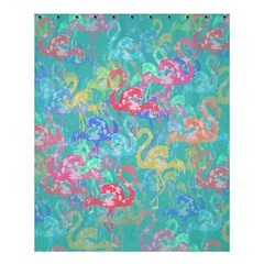 Flamingo Pattern Shower Curtain 60  X 72  (medium)  by Valentinaart
