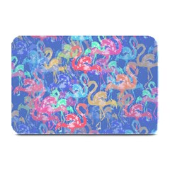 Flamingo Pattern Plate Mats by Valentinaart