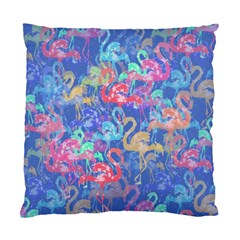 Flamingo Pattern Standard Cushion Case (two Sides) by Valentinaart