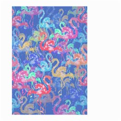Flamingo Pattern Small Garden Flag (two Sides)