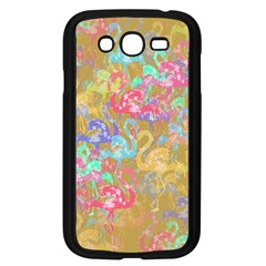 Flamingo Pattern Samsung Galaxy Grand Duos I9082 Case (black)