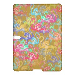 Flamingo Pattern Samsung Galaxy Tab S (10 5 ) Hardshell Case  by Valentinaart
