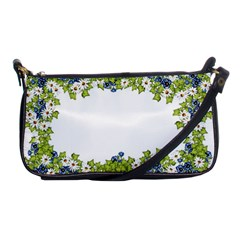 Birthday Card Flowers Daisies Ivy Shoulder Clutch Bags