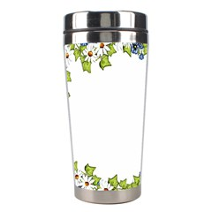 Birthday Card Flowers Daisies Ivy Stainless Steel Travel Tumblers by Nexatart