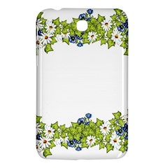 Birthday Card Flowers Daisies Ivy Samsung Galaxy Tab 3 (7 ) P3200 Hardshell Case  by Nexatart