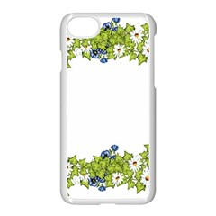 Birthday Card Flowers Daisies Ivy Apple Iphone 7 Seamless Case (white) by Nexatart