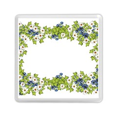 Birthday Card Flowers Daisies Ivy Memory Card Reader (square)