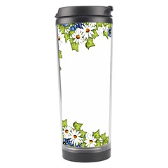 Birthday Card Flowers Daisies Ivy Travel Tumbler by Nexatart