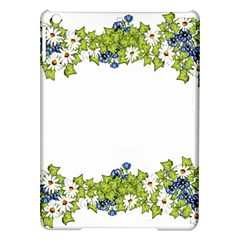 Birthday Card Flowers Daisies Ivy Ipad Air Hardshell Cases by Nexatart