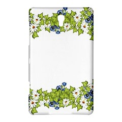 Birthday Card Flowers Daisies Ivy Samsung Galaxy Tab S (8 4 ) Hardshell Case  by Nexatart