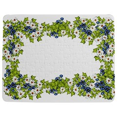 Birthday Card Flowers Daisies Ivy Jigsaw Puzzle Photo Stand (rectangular)
