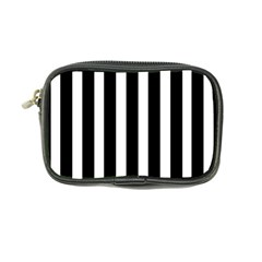 Black White Line Vertical Coin Purse by Mariart