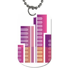 Building Dog Tag (two Sides) by Mariart