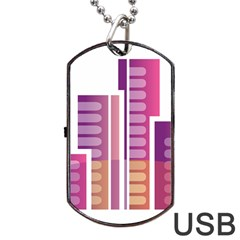 Building Dog Tag Usb Flash (two Sides) by Mariart