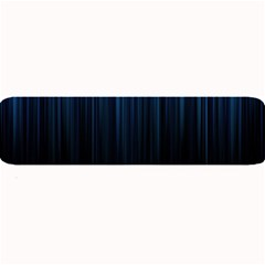 Black Blue Line Vertical Space Sky Large Bar Mats by Mariart