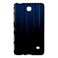 Black Blue Line Vertical Space Sky Samsung Galaxy Tab 4 (8 ) Hardshell Case  by Mariart