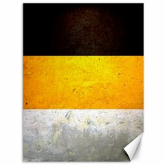 Wooden Board Yellow White Black Canvas 36  X 48   by Mariart