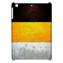 Wooden Board Yellow White Black Apple Ipad Mini Hardshell Case by Mariart