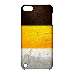 Wooden Board Yellow White Black Apple Ipod Touch 5 Hardshell Case With Stand by Mariart