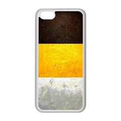 Wooden Board Yellow White Black Apple Iphone 5c Seamless Case (white) by Mariart