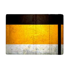 Wooden Board Yellow White Black Ipad Mini 2 Flip Cases by Mariart