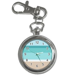 Dachis Beach Line Blue Water Key Chain Watches by Mariart