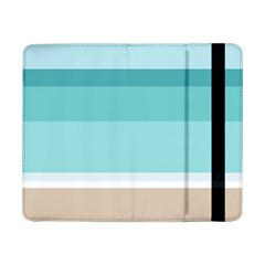 Dachis Beach Line Blue Water Samsung Galaxy Tab Pro 8 4  Flip Case by Mariart