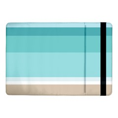 Dachis Beach Line Blue Water Samsung Galaxy Tab Pro 10 1  Flip Case by Mariart