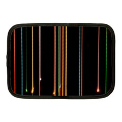 Fallen Christmas Lights And Light Trails Netbook Case (medium)  by Mariart