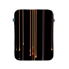 Fallen Christmas Lights And Light Trails Apple Ipad 2/3/4 Protective Soft Cases by Mariart