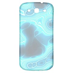 Blue Patterned Aurora Space Samsung Galaxy S3 S Iii Classic Hardshell Back Case by Mariart
