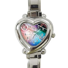 Christmas Heart Italian Charm Watch by Mariart