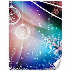 Christmas Canvas 12  X 16   by Mariart
