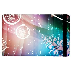 Christmas Apple Ipad 3/4 Flip Case by Mariart