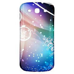 Christmas Samsung Galaxy S3 S Iii Classic Hardshell Back Case by Mariart