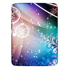 Christmas Samsung Galaxy Tab 3 (10 1 ) P5200 Hardshell Case  by Mariart