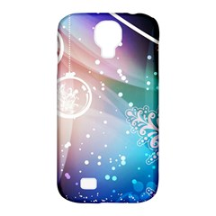 Christmas Samsung Galaxy S4 Classic Hardshell Case (pc+silicone) by Mariart