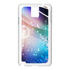 Christmas Samsung Galaxy Note 3 N9005 Case (white) by Mariart