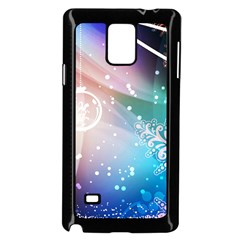 Christmas Samsung Galaxy Note 4 Case (black) by Mariart
