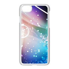 Christmas Apple Iphone 7 Seamless Case (white) by Mariart