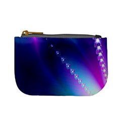 Flow Blue Pink High Definition Mini Coin Purses