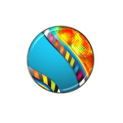 Color Dream Polka Hat Clip Ball Marker (4 Pack) by Mariart