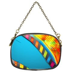 Color Dream Polka Chain Purses (one Side)  by Mariart