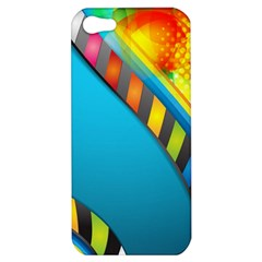 Color Dream Polka Apple Iphone 5 Hardshell Case by Mariart