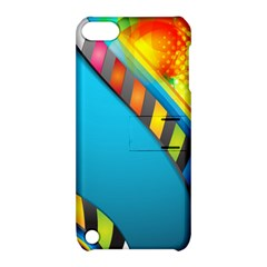 Color Dream Polka Apple Ipod Touch 5 Hardshell Case With Stand by Mariart